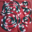 Christmas Pot Holders & 4 Coasters